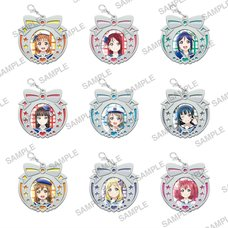 Love Live! Sunshine!! Clear Stained Charm Collection Vol. 5 Box Set