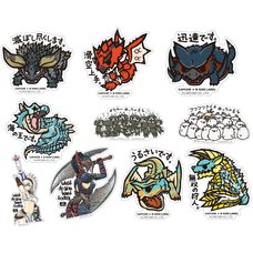 Capcom x B-Side Label Monster Hunter Sticker Collection