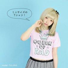 ACDC RAG Queen of Rad Crop Top