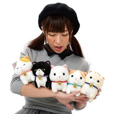 Hokkori Munchkin Cat Plush Collection (Standard)