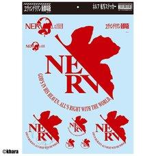 """Rebuild of Evangelion"" NERV Car Stickers"