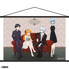 "Rebuild of Evangelion Tapestry  ""Formal Wear"""
