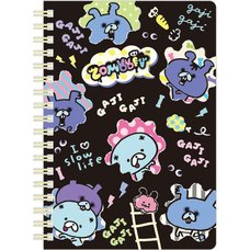 B6 Zombbit Spiral Notebook (Squares)