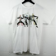 "Kamen Rider Wizard x Bandai x Mangart Beams T ""4 Styles"" Tee"