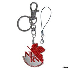 Evangelion Project - NERV Jewelry Key Ring (Red)
