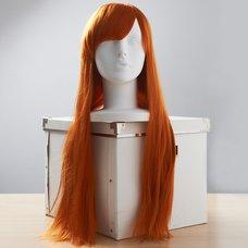 Long Apricot Orange Wig