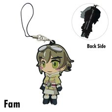 Last Exile: Fam, the Silver Wing Rubber Character Straps