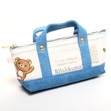 Rilakkuma Tote Bag Style Pencil Case