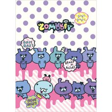 Zombbit 4-Pocket Clear File
