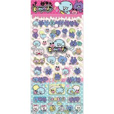 Zombbit Stickers (Pink)