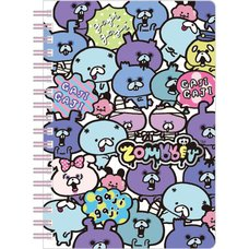 B6 Zombbit Spiral Notebook (Lined)