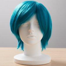 Short Ivory-Dark Green Wig