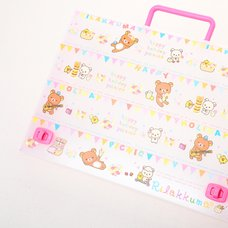 Rilakkuma Carryable File Case