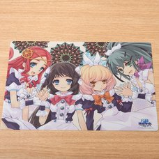 The Guided Fate Paradox Desk Mat
