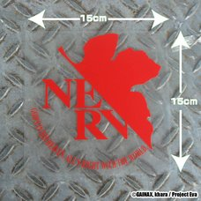 Rebuild of Evangelion NERV Sticker (COSPA)