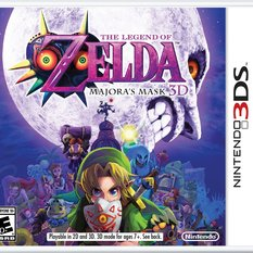 Legend of Zelda: Majora's Mask 3DS