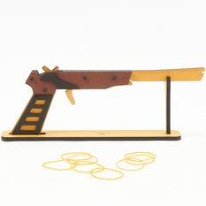 4-Band Automatic Rubber Band Gun (C-2)