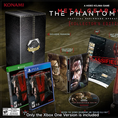 Metal Gear Solid V: The Phantom Pain - Collector's Edition (Xbox One)