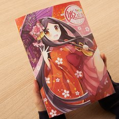 Suwa-hime Princess Picture Scroll & Clear File Set