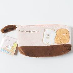 Sumikko Gurashi - Polar Bear and Tonkatsu Pink Pencil Case