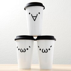Kaomoji-kun Double Walled Tumblers