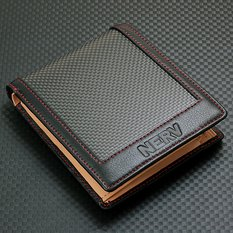 Rebuild of Evangelion NERV Carbon Wallet