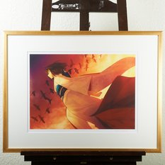 """The Edge of Dawn"" Framed Limited Edition Primagraphie Print Signed by Takashi Takeuchi"