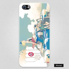 Patrolling Russian Police Officer Smartphone Case