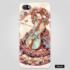 Flowers and a Cellist Smartphone Case