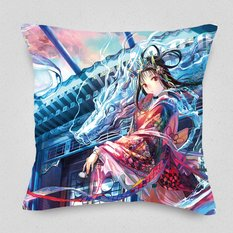 The Dragon King's Daughter Cushion Cover