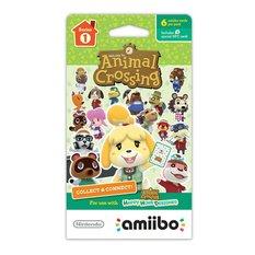 Animal Crossing amiibo Cards Series 1 (6-Pack)
