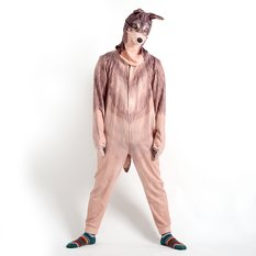Startling Kigurumi Body Suit and Hood (Wolf)