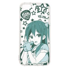 K-On! 5th Anniversary iPhone 5 & 5s Clear Cases/Azusa Nakano [Pre-order]