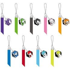 Kagerou Project Mekakushi Dan Members Cell Phone Straps