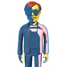 Vinyl Collectible Dolls No. 234: Andy Warhol (Silkscreen Green Ver.)
