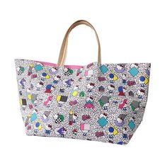 Hello Kitty x Fabrick x STEREO TENNIS Tote Bag