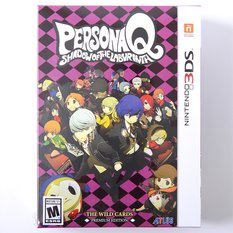 Persona Q: Shadow of the Labyrinth: The Wild Cards Edition (3DS)