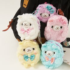Alpacasso Fluffy Mini Backpacks