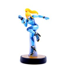 Zero Suit Samus amiibo | Super Smash Bros. (US Ver.)