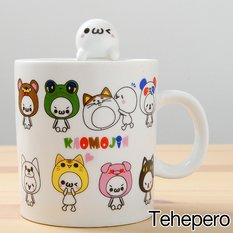 Kaomojin Talking Mugs
