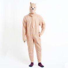 Startling Kigurumi Body Suit and Hood (Polar Bear)