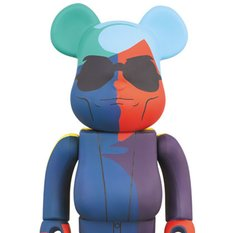 BE@RBRICK Andy Warhol 400% (Silkscreen Ver.)