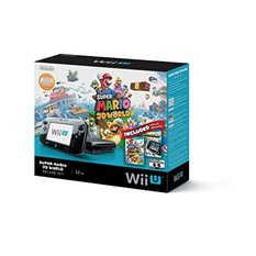 Wii U Black Ver. Super Mario 3D World Deluxe Bundle