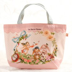 Three Rabbit Sisters Tote Bag