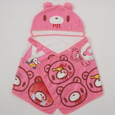 Gloomy Bear Hooded Towel
