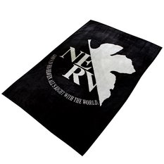 Rebuild of Evangelion Fleece NERV Blanket (Black & Gray)