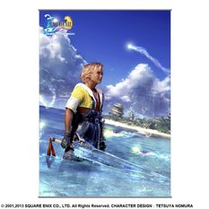 Final Fantasy X HD Remaster Tidus Wall Scroll
