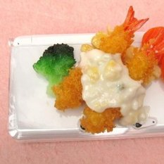 Nintendo DS Series Fried Prawn Food Sample Case