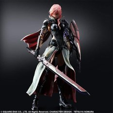 Lightning Returns: Final Fantasy XIII Play Arts Kai - Lightning