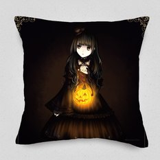 Halloween with Gothic & Lolita Cushion Cover
